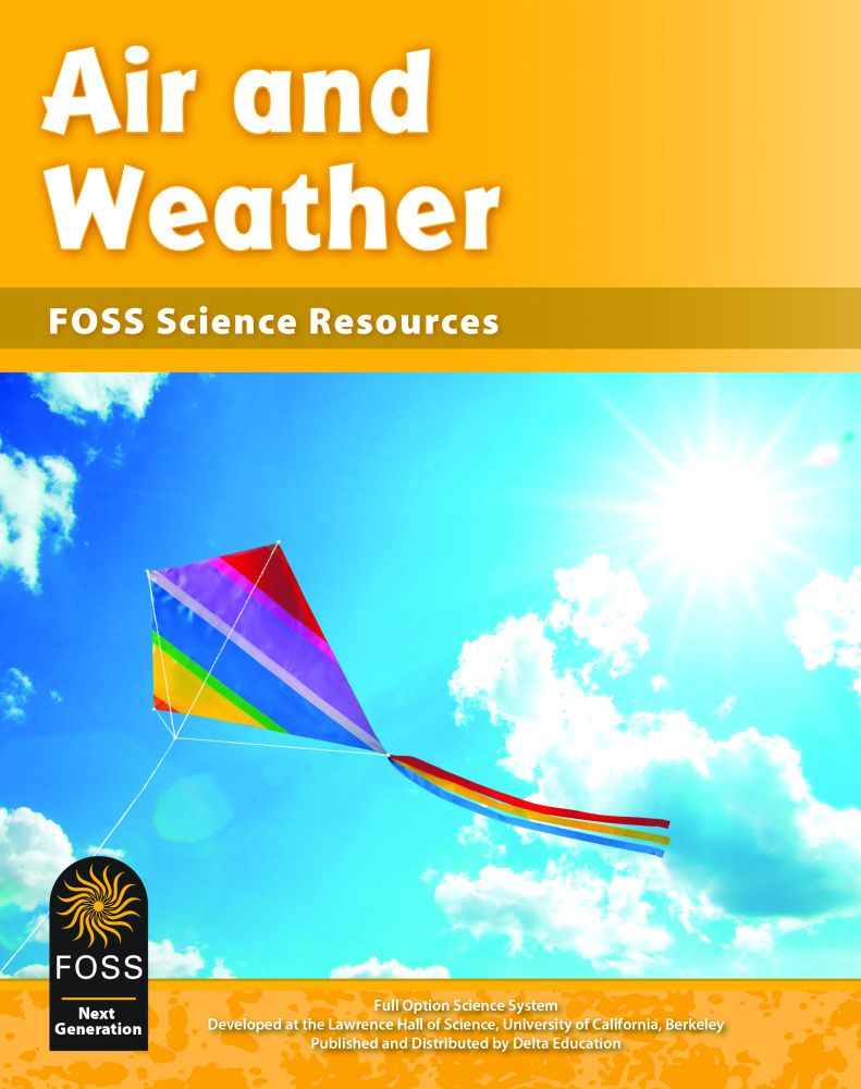 Foss Next Generation Air And Weather Science Resources Book Each